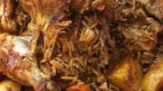 دجاج محشي على طريقة الشيف عامر