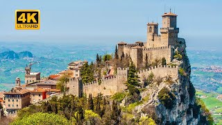 A Trip To SAN MARINO - 5th Smallest Country In The World [4K]