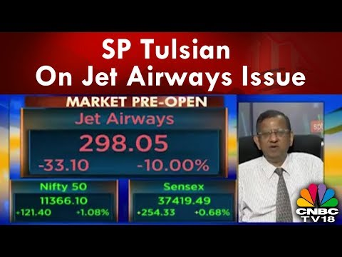 SP Tulsian Views On Naresh Goyal Idea to Sell Stake, Assets to Keep Airline Afloat | CNBC TV18