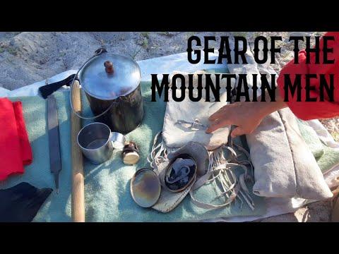 Basic Gear Of The Mountain Men