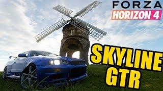 EZAZ, SKYLINE GTR!!! :D | FORZA HORIZON 4