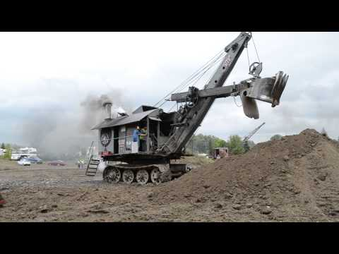 Bucyrus-Erie Steam Shovel Rollag 2014