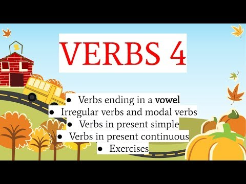 Albanian for beginners (verbs in present indicative - part 4)