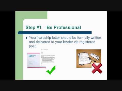 How to write a hardship letter to a mortgage company that gets how to write a hardship letter to a mortgage company that gets approved part1 expocarfo