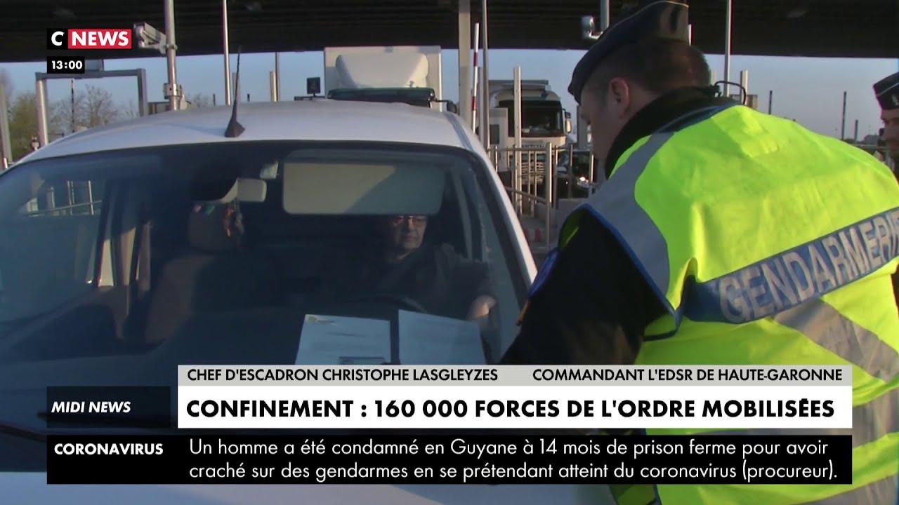 Vacances de Pâques : 160.000 forces de l'ordre mobilisées pour faire respecter le confinement