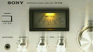 SONY TA-F4A - Integrated Stereo Amplifier - inside