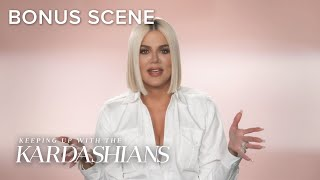 Khloé Kardashian Laughs Her Way Through the Pain! | KUWTK Bonus Scene | E!