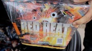 Panda Red Heat (XXL-Fächer-Batterie) 460gr NEM - 25 Schuss - Silvester 2014 -