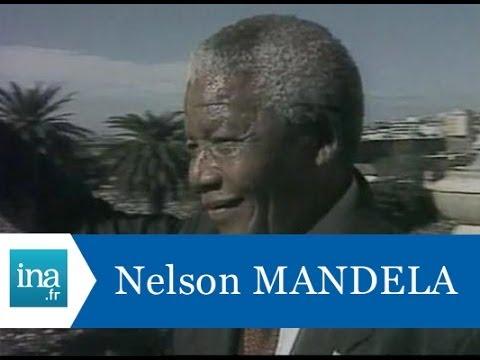 Nelson Mandela devient Président de l'Afrique du Sud - Archive INA