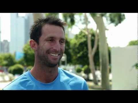 Qualifiers: Adam Feeney Interview - Australian Open 2013