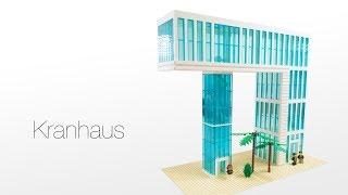 Lego / Brick - Skyscraper / Wolkenkratzer / Hochhaus - Kranhaus Video