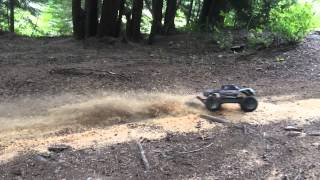 Traxxas Stampede 4x4 Brushless VXL 2s Lipo 120 FPS Slow Motion