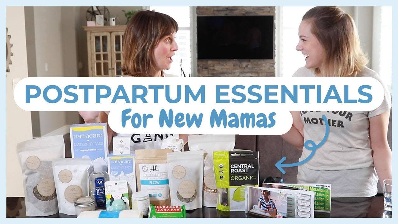 POSTPARTUM GIFTS FOR MOM: Gift basket ideas of what new moms really need  (tenth moon mothercare)