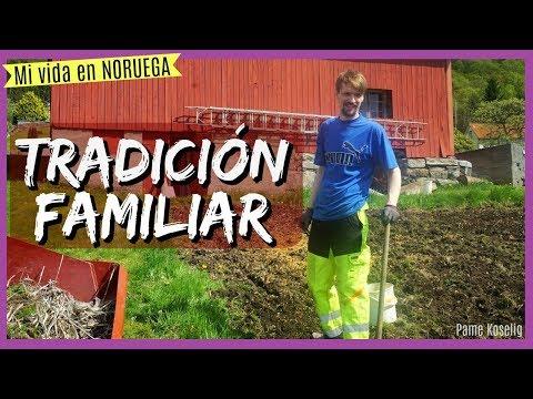 SEMBRANDO PAPAS 🥔 - Tradición Familiar - Mexicana en NORUEGA ♥ Vlog 199 [Pame Koselig]