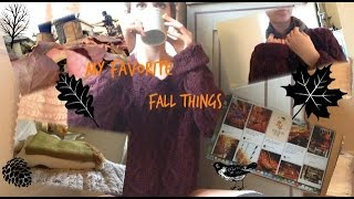 My Favorite Fall things! Thumbnail