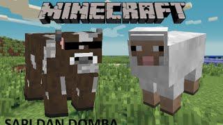 cerita nggak penting minecraft episode sapi dan domba