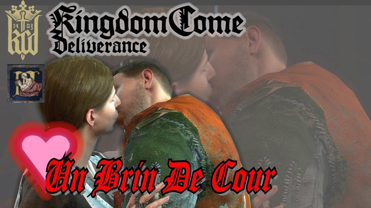 Kingdom Come Deliverance Fr Un Brin De Cour Romance Therese Succes Garconier