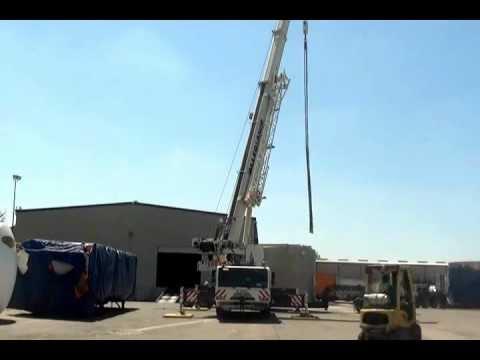 Heavy Lift Operations At World Trade Distribution (Houston, Texas)