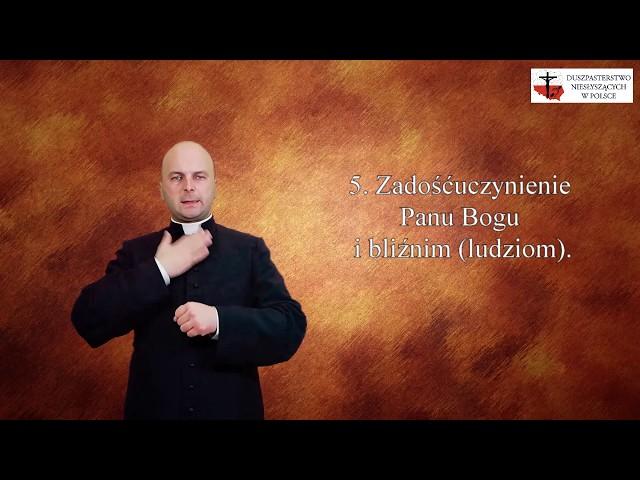Modlitwy migane - 5 Warunków dobrej Spowiedzi