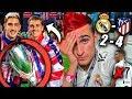 REACCIONES DE UN HINCHA Real Madrid vs Atlético Madrid 2-4 SIN CRISTIANO RONALDO (Final Supercopa)