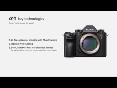 Sony | α9 | New image sensor - 35mm full-frame stacked CMOS sensor with integral memory