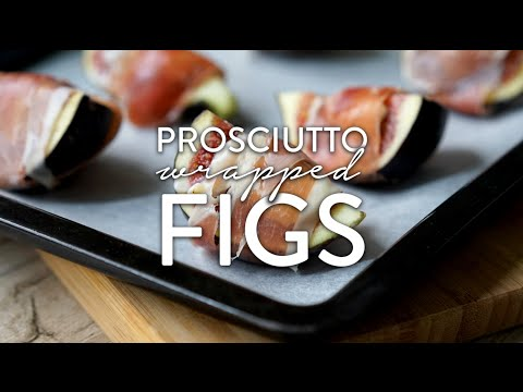 Prosciutto Wrapped Figs - Video Recipe By Broke And Cooking