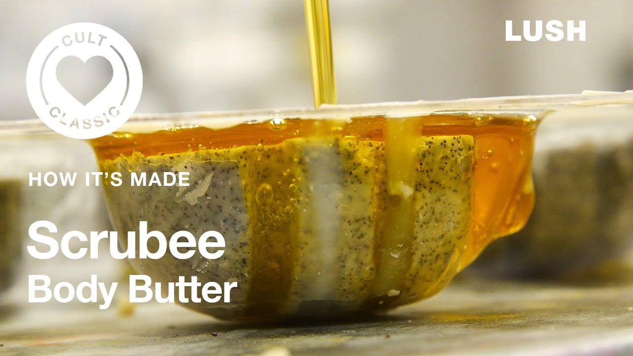 Lush How It's Made: Scrubee Body Butter