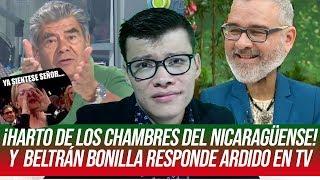 Beltrán Bonilla responde otra vez ardido en TV ¡Ya siéntese señor! - SOY JOSE YOUTUBER