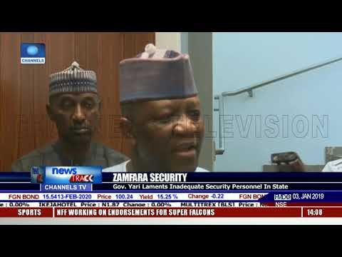 Governor Yari Laments Inadequate Security Personnel In Zamfara