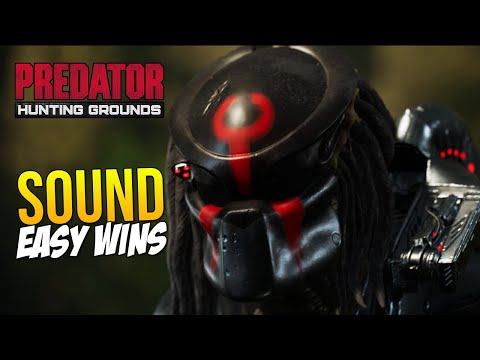 Using SOUNDS To Get EASY WINS In Predator Hunting Grounds