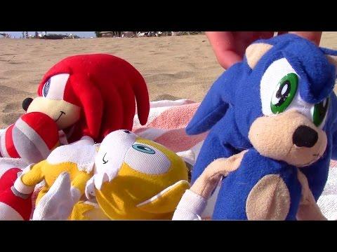 Sonic Plush Adventures-Hawaii Too