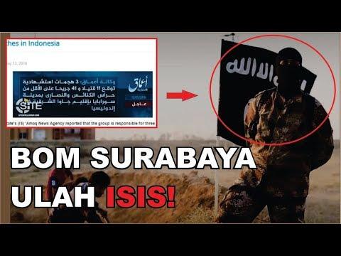 ISIS MENYATAKAN TELAH MENGEBOM 3 GEREJA DI SURABAYA