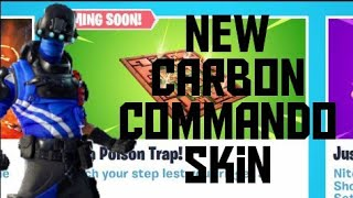 Fortnite live Classic LTM, New Carbon commando skin, The floor is lava LTM & Poison Trap coming soon