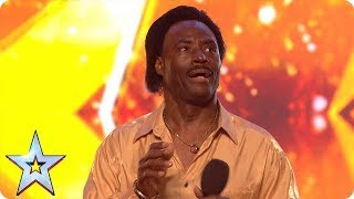 Donchez bags a GOLDEN BUZZER with his Wiggle and Wine! | Auditions | BGT 2018 thumbnail