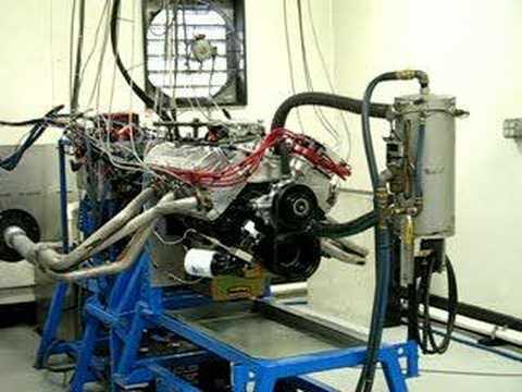 AMC 360 JEEP ENGINE DYNO TEST