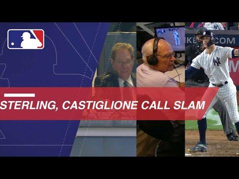 Sterling, Castiglione call Stanton's slam