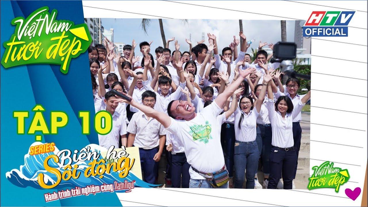 image VIỆT NAM TƯƠI ĐẸP | Gặp mai Phương Thúy, bộ tứ cùng nhặt rác bờ biển Trần Phú | VNTD #10 MÙA 3 FULL