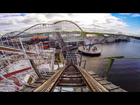Defunct Roller Coasters Of Indiana Beach - Multi Angle Onride POV