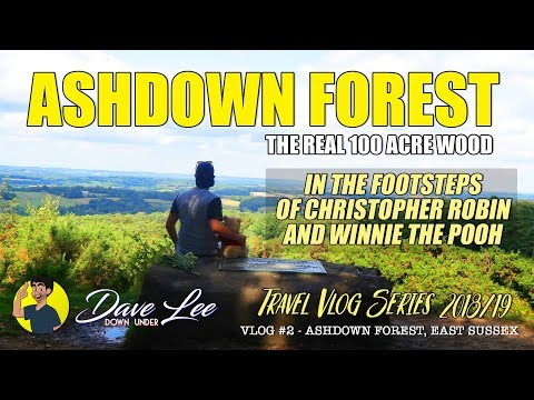 Christopher Robin and Winnie the Pooh's REAL 100 Acre Wood: The Ashdown Forest