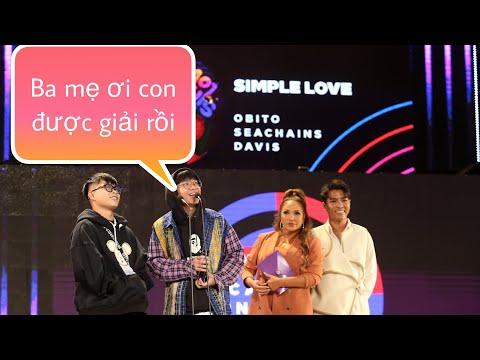 Simple love | OBITO & SEACHAINS nhận giải Zing music award 2019 bài hát r&b/soul của năm