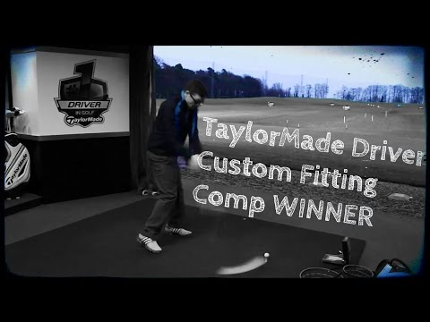 TaylorMade Driver Fitting with COMPETITION WINNER
