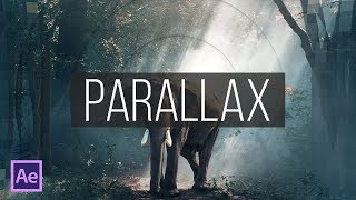 Создание Parallax слайдшоу в After Effects (Parallax Slideshow in After Effects)