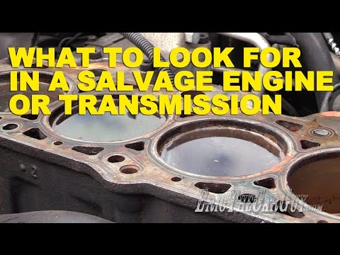 What to Look for in a Salvage Yard Engine or Transmission