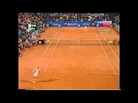 Mary Pierce vs Maria Sharapova Italian Open 2005
