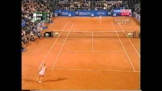 Mary Pierce vs Maria Sharapova Italian Open 2005