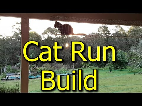 How To Build A Cat Run & Enclosure - What Materials We Used For DIY