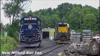 Housatonic Railroad: Pan-Am Railway leaser running to Canaan