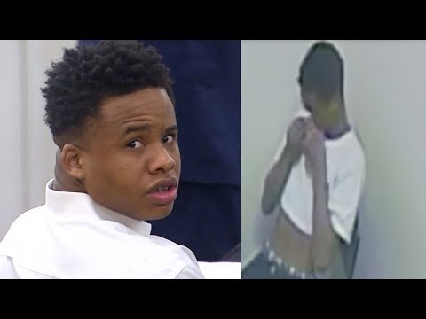 Tay K Crying on  During Interrogation is Played in Court
