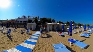 Video 360 Spiaggia - Villaggio Turistico Baia di Manaccora a Peschici in Puglia