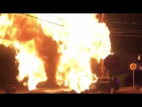 Newport Explosion